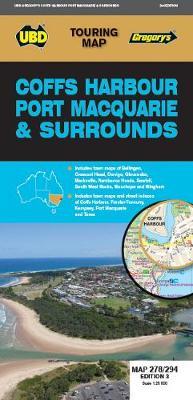 Coffs Harbour Port Macquarie & Surrounds Map 278/294 3rd ed book