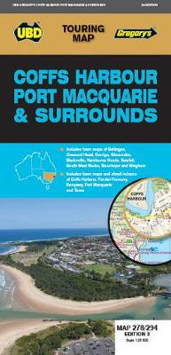 Coffs Harbour Port Macquarie & Surrounds Map 278/294 3rd ed by UBD Gregory's