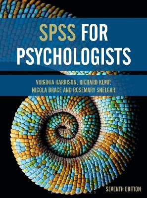 SPSS for Psychologists by Virginia Harrison