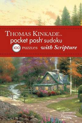 Thomas Kinkade Pocket Posh Sudoku 2 with Scripture by The Puzzle Society