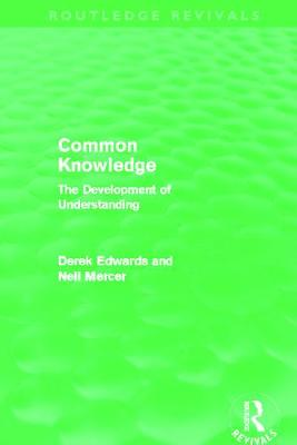 Common Knowledge by Derek Edwards