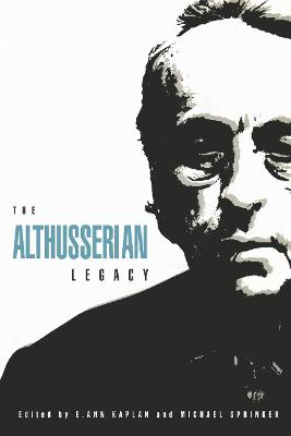 The Althusserian Legacy book