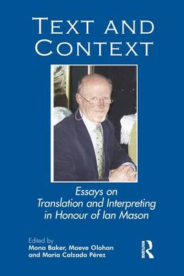 Text and Context by Mona Baker