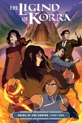 The Legend Of Korra: Ruins Of The Empire Part One book