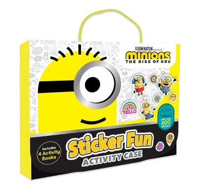 Minions the Rise of Gru: Sticker Act Case (Universal) book