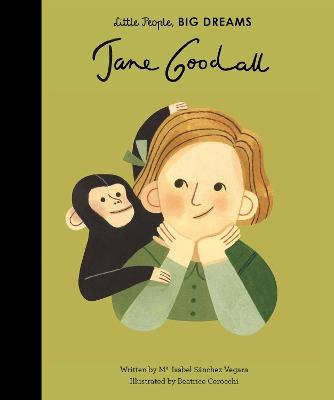 Jane Goodall by Isabel Sanchez Vegara