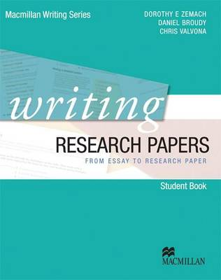 Writing Research Papers by Dorothy Zemach