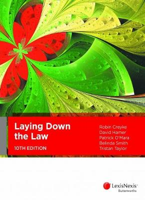 Laying Down the Law book