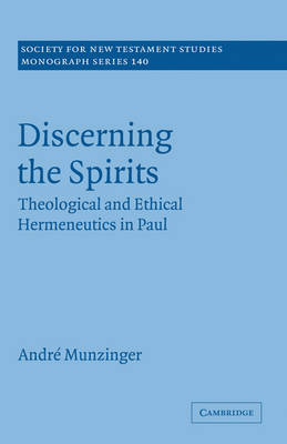 Discerning the Spirits book