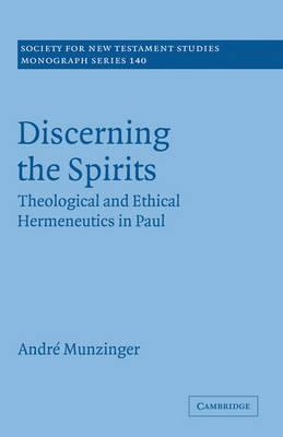 Discerning the Spirits book