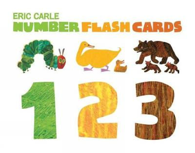 Eric Carle Numbers Flashcards 123 by Eric Carle