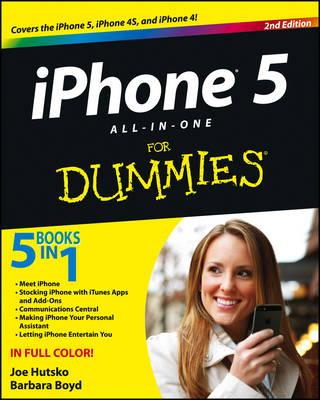 IPhone 5 All-in-One For Dummies by Joe Hutsko