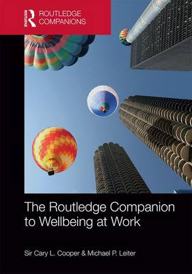 Routledge Companion to Wellbeing at Work by Cary L. Cooper