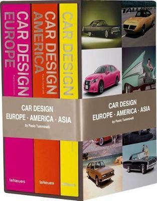 Car Design Box Set by Paolo Tumminelli