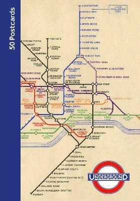 London Underground 50 Postcards by London Transport Museum