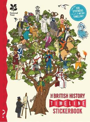 The British History Timeline Stickerbook by Christopher Lloyd
