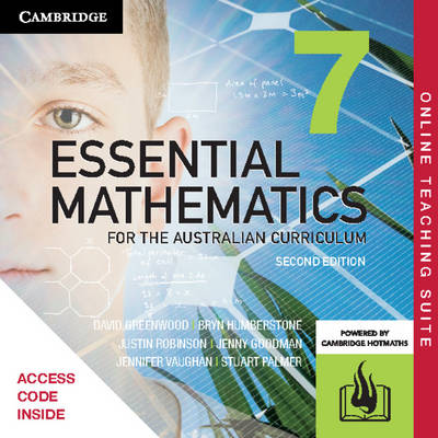 Essential Mathematics for the Australian Curriculum Year 7 Online Teaching Suite (Card) by David Greenwood