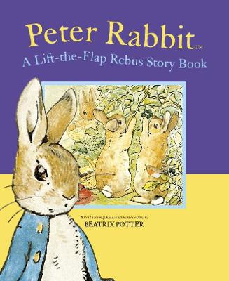 Peter Rabbit Lift-the-Flap Rebus Story Book by Beatrix Potter