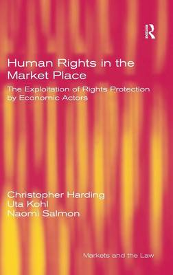 Human Rights in the Market Place by Uta Kohl