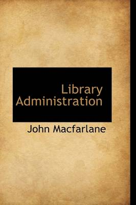 Library Administration book