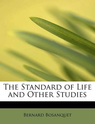 The Standard of Life and Other Studies book