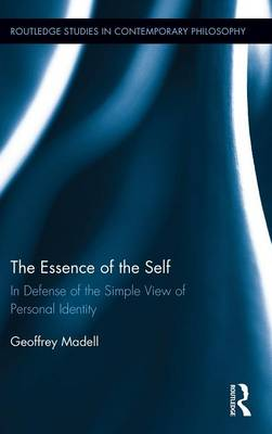 The Essence of the Self by Geoffrey Madell