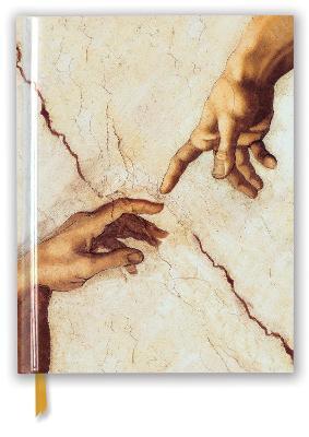 Michelangelo: Creation Hands (Blank Sketch Book) book