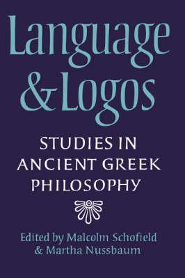 Language and Logos book