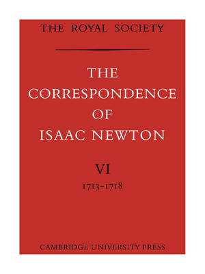 Correspondence of Isaac Newton book