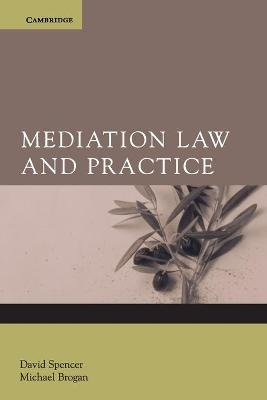 Mediation Law and Practice book