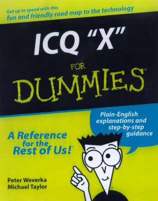 ICQ 2000 For Dummies by Peter Weverka