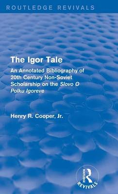 The Igor Tale by Henry R. Cooper, Jr.