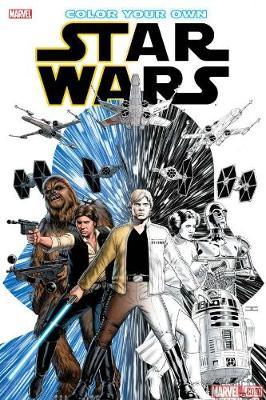 Color Your Own Star Wars by Salvador Larroca