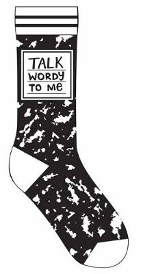 Talk Wordy to Me Socks by Gibbs Smith Publisher