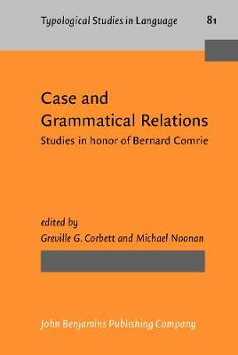 Case and Grammatical Relations by Greville G. Corbett