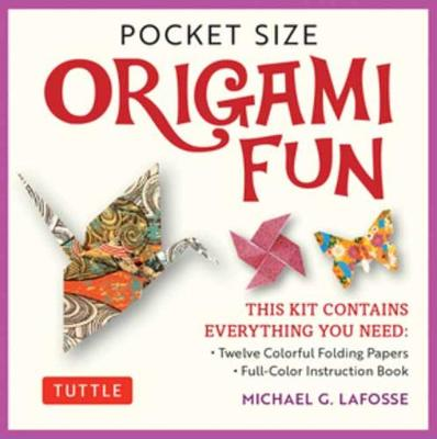 Pocket Size Origami Fun Kit: Contains Everything You Need to Make 7 Exciting Paper Models by Michael G. LaFosse