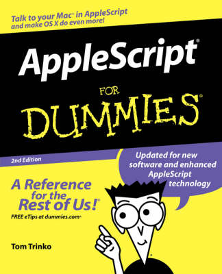 Applescript for Dummies, 2nd Edition book