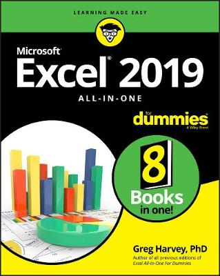 Excel 2019 All-in-One For Dummies book