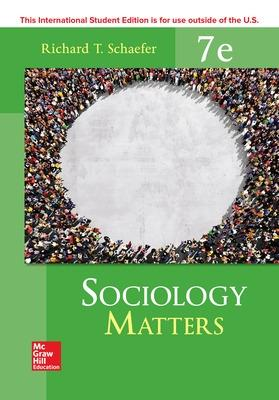 ISE Sociology Matters by Richard T. Schaefer