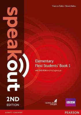 Speakout Elementary 2nd Edition Flexi Students' Book 1 with MyEnglishLab Pack by Frances Eales