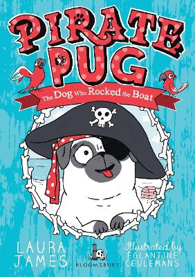 Pirate Pug by Eglantine Ceulemans