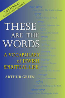 These are the Words by Arthur Green
