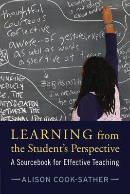 Learning from the Student's Perspective by Alison Cook-Sather