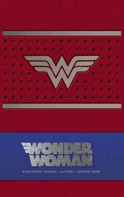 Wonder Woman Ruled Pocket Journal book