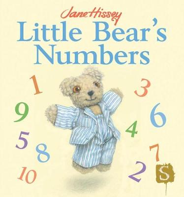Little Bear's Numbers by Jane Hissey