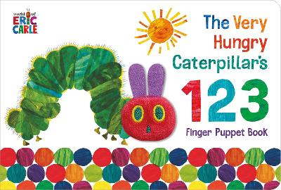The Very Hungry Caterpillar Finger Puppet Book: 123 Counting Book book