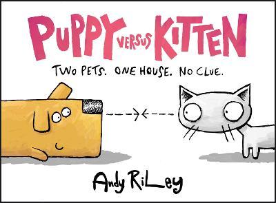 Puppy Versus Kitten book