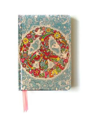 Peace Sign (Contemporary Foiled Journal) by Flame Tree