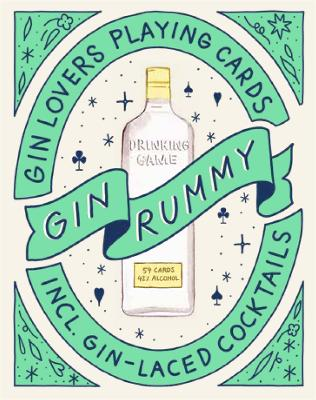 Gin Rummy: Gin Lovers Playing Cards by Emma Stokes
