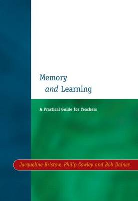 Memory and Learning by Jacqueline Bristow